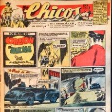 Tebeos: TEBEOS CHICOS. NÚMEROS 462,463 Y464. NOVIEMBRE 1947. Lote 209018567
