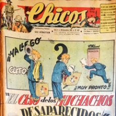Tebeos: TEBEOS CHICOS. NÚMEROS 466 Y 467. DICIEMBRE 1947. Lote 209018857