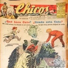 Tebeos: TEBEOS CHICOS. NÚMEROS 468 A 477. ENERO A MARZO 1948. Lote 209081048