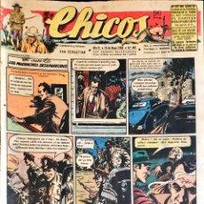 Tebeos: TEBEOS CHICOS. NÚMEROS 478 A 487. MARZO A MAYO 1948. Lote 209082025