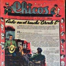 Tebeos: TEBEOS CHICOS. NÚMEROS 488 A 497. MAYO A JULIO 1948. Lote 209083515