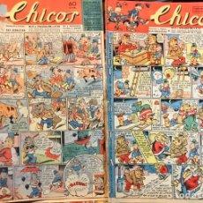 Tebeos: TEBEOS CHICOS. NÚMEROS 410 A 417. NOVIEMBRE Y DICIEMBRE 1946. Lote 209326351