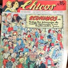 Tebeos: TEBEOS CHICOS. NÚMEROS 237, 240 Y 241. ENERO Y FEBRERO 1943. Lote 209422265