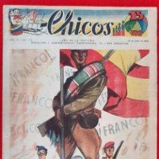 Giornalini: CHICOS AÑO II Nº 72 19 JULIO 1939 ORIGINAL CT1. Lote 212416165