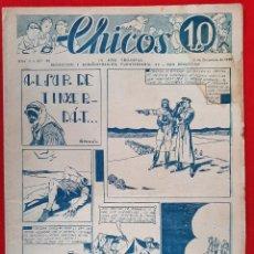 Tebeos: CHICOS AÑO I EPOCA GUERRA CIVIL Nº 42 1938 ORIGINAL CT1. Lote 212416962
