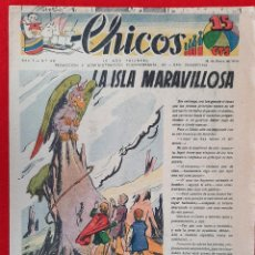 Tebeos: CHICOS AÑO I EPOCA GUERRA CIVIL Nº 46 18 ENERO 1939 ORIGINAL CT1. Lote 212417076