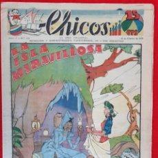 Tebeos: CHICOS AÑO I EPOCA GUERRA CIVIL Nº 50 15 FEBRERO 1939 ORIGINAL CT1. Lote 212417238