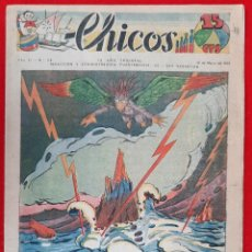 Tebeos: CHICOS AÑO I EPOCA GUERRA CIVIL Nº 54 15 MARZO 1939 ORIGINAL CT1. Lote 212417423