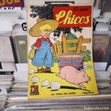 Tebeos: EL GRAN CHICOS, NUM. 15: FEBRERO 1947. Lote 213892618