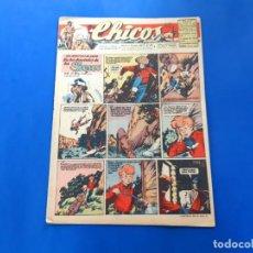 Tebeos: CHICOS Nº 390 AÑO 1946 -BUEN ESTADO. Lote 218107511