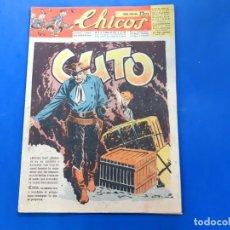 Tebeos: CHICOS Nº 435 AÑO 1947 -BUEN ESTADO. Lote 218107862
