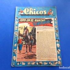 Tebeos: CHICOS Nº 496 AÑO 1948 -BUEN ESTADO. Lote 218119535