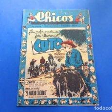 Tebeos: CHICOS Nº 493 AÑO 1948 -BUEN ESTADO. Lote 218119596