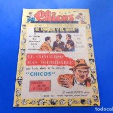 Tebeos: CHICOS Nº 491 AÑO 1948 -BUEN ESTADO. Lote 218120078
