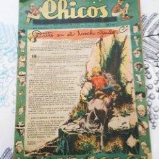 Tebeos: CHICOS 1948 N.º 504 CUTO EN EL RANCHO C. Lote 218493171