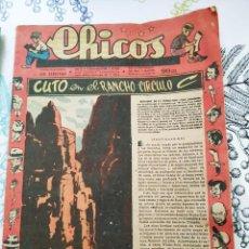 Tebeos: CHICOS 1948 N.º 511 CUTO EN EL RANCHO C. Lote 218493258