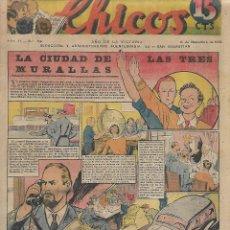 Tebeos: CHICOS NUM 89 - ORIGINAL. Lote 224214220