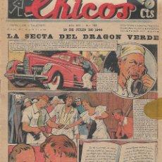 Tebeos: CHICOS NUM 123 ORIGINAL. Lote 224215772