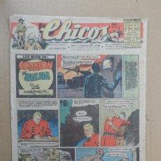Giornalini: CHICOS ORIGINAL Nº 458 AÑO 1947 INCLUYE EL PRIMER DIBUJO PUBLICADO DE IBAÑEZ ( MORTADELO Y FILEMON). Lote 229898100