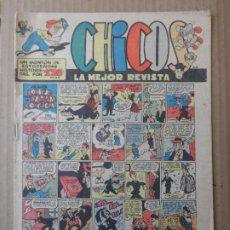 Giornalini: CHICOS ORIGINAL Nº 538 EDITORIAL CONSUELO GIL AÑO 1947. Lote 229903950