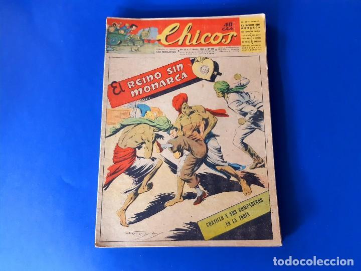 CHICOS Nº 329 -40 CTS -1944 -CONSUELO GIL (Tebeos y Comics - Consuelo Gil)