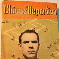 Tebeos: CHICOS DEPORTIVO, 20 NÚMEROS ORIGINALES (DEL 51 AL 70 ) EDITORIAL CONSUELO GIL 1948. Lote 236857065