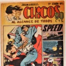 Giornalini: CHICOS, SEGUNDA EPOCA, EDITA CONSUELO GIL 1950, NÚMERO 2 ORIGINAL. Lote 248051755