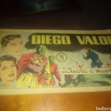 BDs: DIEGO VALOR 15. Lote 249074840