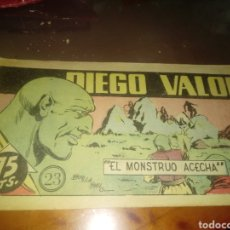 BDs: DIEGO VALOR 23. Lote 249116945