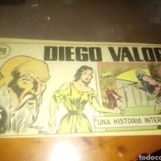 BDs: DIEGO VALOR 29. Lote 249117730