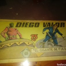 BDs: DIEGO VALOR 40. Lote 249119170