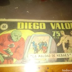BDs: DIEGO VALOR 44. Lote 249119860