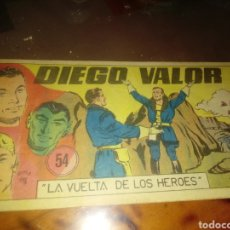 BDs: DIEGO VALOR 54. Lote 249120755