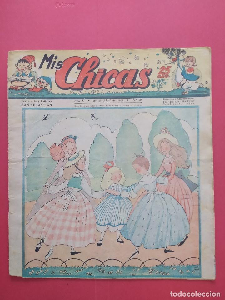 MIS CHICAS Nº 50 (Tebeos y Comics - Consuelo Gil)