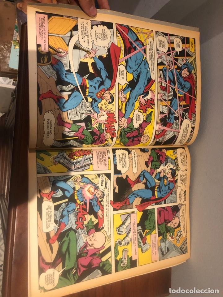 Tebeos: SUPERMAN VS EL ASOMBROSO SPIDER-MAN - El combate del siglo - Ed ZINCO - MUY BUEN ESTADO - Foto 3 - 267164229
