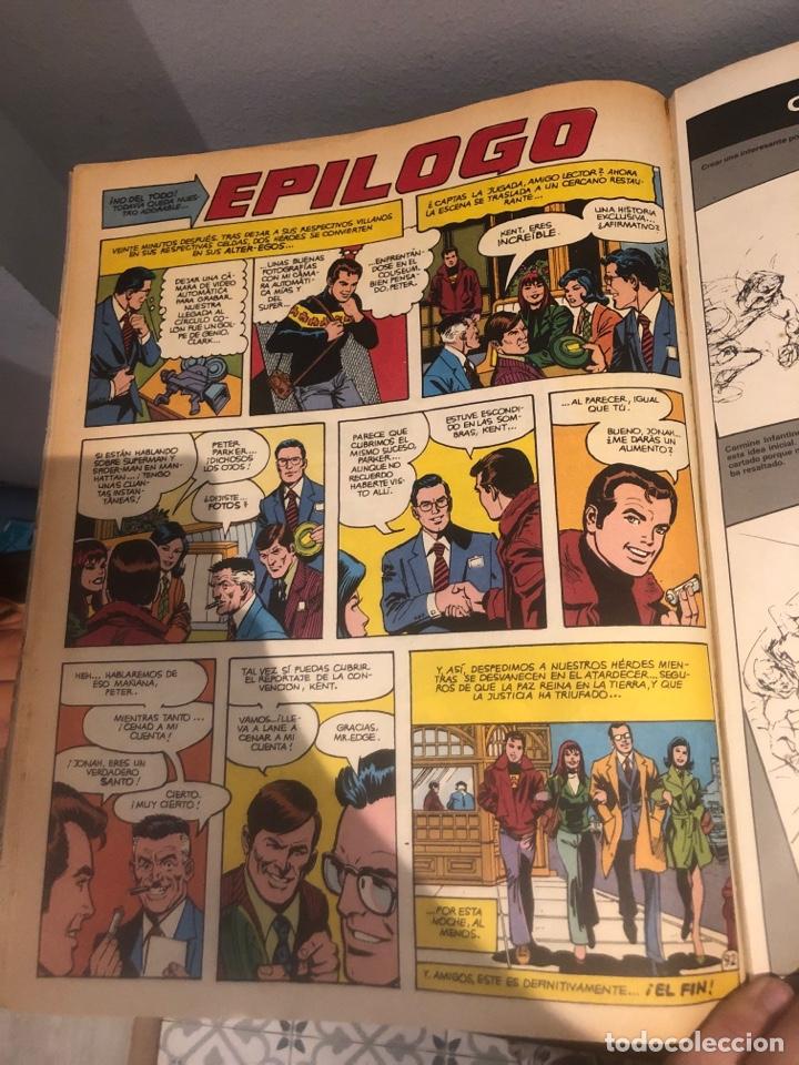 Tebeos: SUPERMAN VS EL ASOMBROSO SPIDER-MAN - El combate del siglo - Ed ZINCO - MUY BUEN ESTADO - Foto 6 - 267164229