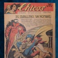 Tebeos: CHICOS Nº213.CONSUELO GIL. AÑO.1942. Lote 268456729