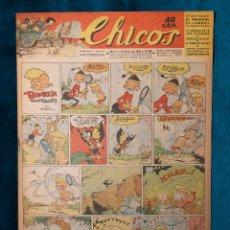 Tebeos: CHICOS Nº288.CONSUELO GIL. AÑO.1944. Lote 268457294