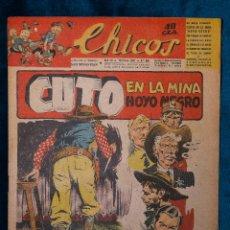 Tebeos: CHICOS Nº336.CONSUELO GIL. AÑO.1945. Lote 268457424