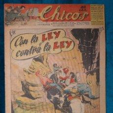 Tebeos: CHICOS Nº337.CONSUELO GIL. AÑO.1945. Lote 268457604