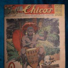 Tebeos: CHICOS Nº339.CONSUELO GIL. AÑO.1945. Lote 268457734
