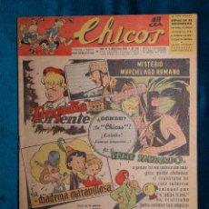 Tebeos: CHICOS Nº342.CONSUELO GIL. AÑO.1945. Lote 268458004