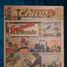 Tebeos: CHICOS Nº345.CONSUELO GIL. AÑO.1945. Lote 268458209