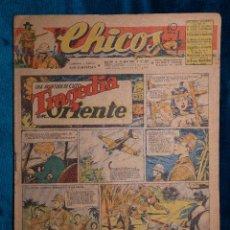 Tebeos: CHICOS Nº349.CONSUELO GIL. AÑO.1945. Lote 268458444