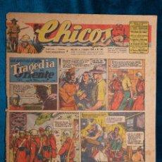 Tebeos: CHICOS Nº360.CONSUELO GIL. AÑO.1945. Lote 268458934
