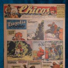 Tebeos: CHICOS Nº364.CONSUELO GIL. AÑO.1945. Lote 268459254