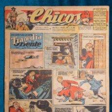Tebeos: CHICOS Nº366.CONSUELO GIL. AÑO.1945. Lote 268459374