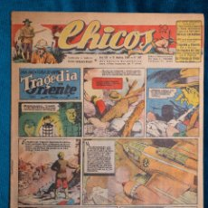 Tebeos: CHICOS Nº367.CONSUELO GIL. AÑO.1945. Lote 268459464