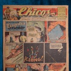 Tebeos: CHICOS Nº376.CONSUELO GIL. AÑO.1946. Lote 268459744