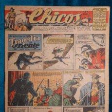 Tebeos: CHICOS Nº377.CONSUELO GIL. AÑO.1946. Lote 268459759